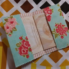 Passport Pension Book Wallet- Shabby Chic