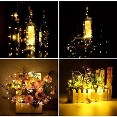 LED Bottle Cork String Lights (Warm White)