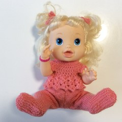 Baby Alive Doll in Soft Apricot Outfit