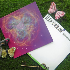 Galaxy Rainbow  Post Card