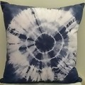 Linen Denim Blue Shibori
