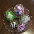 Easter Eggs - sequinned
