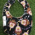 Bubble-O-Bill Bib ~ Black ~ BoB feeding Bib