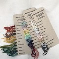 COLOUR CARDS - 5ply hand dyed superfine merino