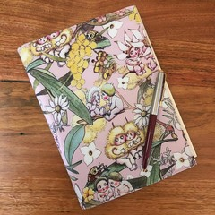 Note Pad Cover - Gossiping Gumnuts