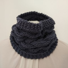 Hand Knitted Cuff Scarf