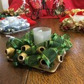 Christmas Candle Holder with Gumnut