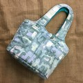 Fabric Shoulder Bag, Tote, Craft Bag with Pockets and is Fully Lined
