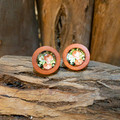 Forest Wood Studs - Roses
