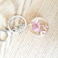 Purple Flower Keyring