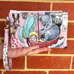 Wristlet - May's Adventures  (koala on the good luck boat)