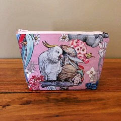 Pouch - Mays Adventures (Kookaburra & Cockatoo)