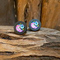 Forest Wood Studs - Butterfly