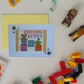 Six Children's Birthday Cards (Cross Stitch)