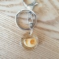 Manly Beach Shell Keyring