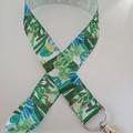 Cactus print lanyard / ID holder / badge holder
