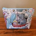Pouch - Mays Tales (koala on the good luck boat)