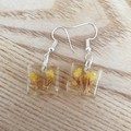 Yellow Flower Dangles