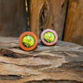 Forest Wood Studs - Evergreen