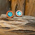 Forest Wood Studs - Blue