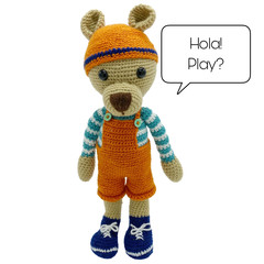 Juni  Bear - from the Red George cuddle crew