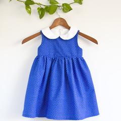 Eco Cotton Peterpan Toddler Dress Size 3