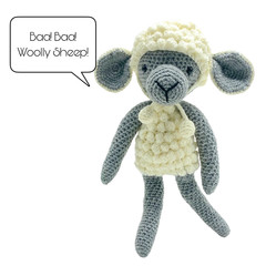 Woolly the Lamb - from the Red George cuddle crew