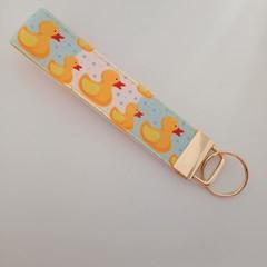 Duck key fob wristlet