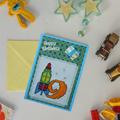 Child's 9th Birthday Card