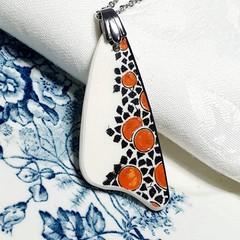 Crown Ducal Orange Tree Pendant