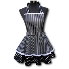 Nuit d'Amour 2 tier ladies apron
