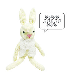 Fluffy Bunny - from the Red George cuddle crew