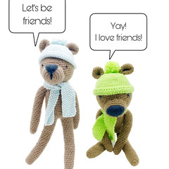 Ted or Julz - from the Red George cuddle crew