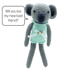 Clara the Koala - from the Red George cuddle crew
