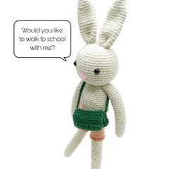 Basha Bunny - from the Red George cuddle crew