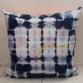 White/ Navy and Red/ pink Cotton Cushion On Sale