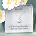 Grandmother  Necklace, Grandmother of the Bride Necklace ,Generations Necklace