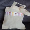 Girl's party favor mini tote bag