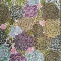 Celebration of Succulents  Tea Towel