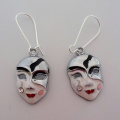 Masquerade ball / mask earrings
