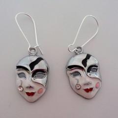 Masquerade ball / mask earrings