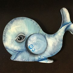 Child's Photo Frame - Whale Shape