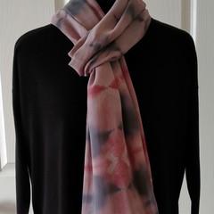 Silk Georgette Pastels Shibori Wrap