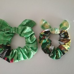 Knotted Bow Scrunchies.