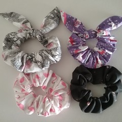 Knotted bow hair Scrunchies