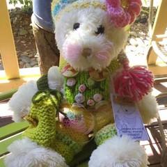 Bespoke Teddy Bear 'EDEN'