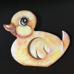 Child's Photo Frame - Duckie Shape