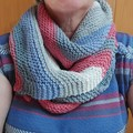 Boomerang scarf
