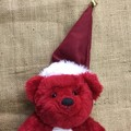 Red Santa Bear Embroidered Tummy