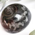 Rose Quartz, Black Tourmaline and Copper Energy Pod